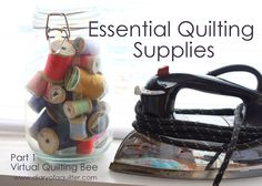 Diary of a Quilter - a quilt blog: Virtual Quilting Bee: Quilting Supplies