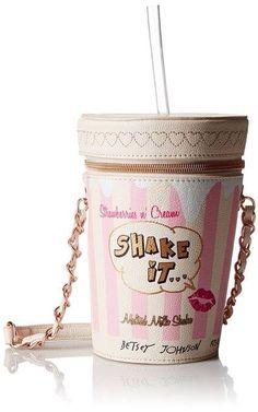 Strawberry Milkshake purse<3  (Betsey Johnson)