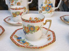 Porcelaine Limoges Ancien service à café Betoule & Legrand @ | Céramiques, verres, Céramiques françaises, Limoges | eBay!