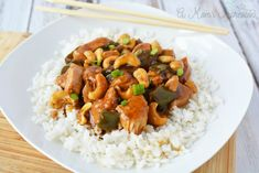 Looking for a nice take-out version of an easy cashew chicken recipe you can make at home? This easy Instant Pot Cashew Chicken recipe is healthy and tasty and much better than the take-out we all love!