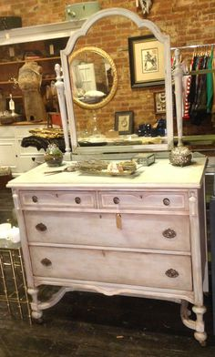 Beautiful Us Painted Dresser Blue White And Aged With Unfinished Furniture  Store Richmond Va