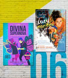 Cartazes Domingo Cultural da Cuscuzeria Café: Divina Supernova ou Qualquer Bobagem [Mutantes Revisitado] // Lucy Muritiba [Show Em Cores].