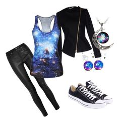 """Space"" by addison-quinn ❤ liked on Polyvore"