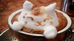 Cómo se hace el latte art en 3D