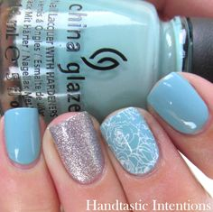 Handtastic Intentions: Nail Art: #31DC2014 Day 21 Inspired by a Color