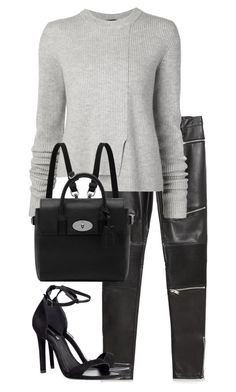 """""""Untitled #2605"""" by elenaday on Polyvore featuring Zara, Proenza Schouler, Mulberry, H&M, women's clothing, women's fashion, women, female, woman and misses"""