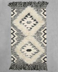 Tapis coton tissé berbère - Le tapis style berbère réchauffe notre intérieur…