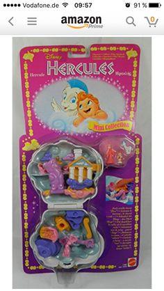 Original Disney Polly Pocket Hercules❤️❤️