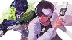 Kamen rider ex-aid (Taiga and Sniper)