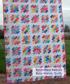 Boundless Beauty ~ 5 Sizes Baby to King | Craftsy - jelly roll