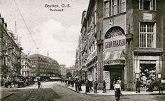 Bytom przed laty. Dom towarowy braci Barasch w 1922 roku. ul Gliwicka
