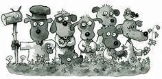 Illustration by Mauri Kunnas. Bff, Teddy Bear, Comics, Illustration, Christmas, Animals, Culture, Xmas, Animales