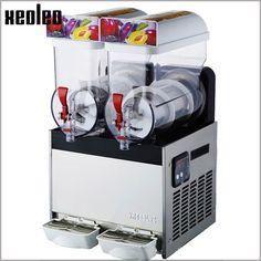 High quality 2 tank commercial Frozen Drink Slush machine Snow grains smoothies
