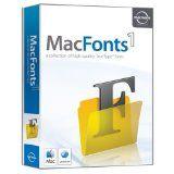 Macware MacFonts (CD-ROM)  #apple