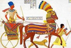 Egyptians chariot