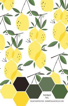 Neiko Ng's Lemons – Color Inspiration