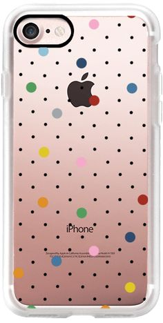 Casetify iPhone 7 Classic Grip Case - Pin Point Polka Dot Multi by Project M #Casetify