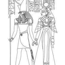 Horus et Nefertari