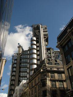 Lloyds of London - Lloyds of London    Richard Rogers building built from 1979-84 housing a British insurance market.