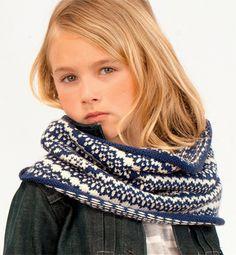Modèle snood fille - Modèles tricot enfant - Phildar