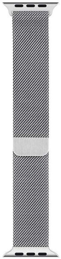 Milanese Loop for Apple Watch - Silver Apple Watch Silver, Buy Apple Watch, Apple Watch 42mm, Apple Watch Series 3, Apple Band, Apple Watch Accessories, Mesh Band, Best Buy Store, Stainless Steel Mesh