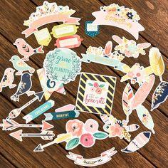 CRAFT Love You paper die cuts for DIY scrapbooking/photo album Decoration Crafts 34pcs