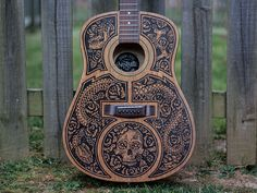 Messing around with Sharpie art on guitars. Pretty happy with ho this turned out. This guitar will some be on display here in Nashville at Saint Anejo's Tequila Library.
