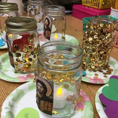 Light of Christ jar lanterns- can use flameless votives from the Dollar Tree. Sunday School Activities, Sunday School Crafts, School Resources, Orthodox Prayers, Orthodox Christianity, Holy Friday, Prayer Jar, Light Of Christ, Candle Craft