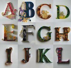 40 Fun Alphabets Made of Anything - Blog of Francesco Mugnai