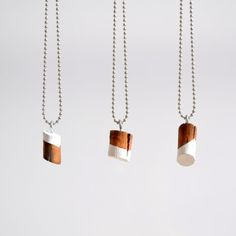 Wood Knot Necklace