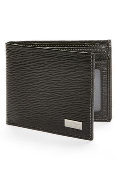 Salvatore Ferragamo Stamped Calf Wallet available at #Nordstrom #southbaygalleria