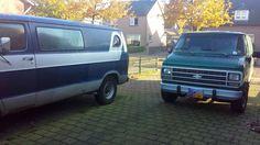 Dodge & Chevy Van Chevy Van, Dodge, Vans, American, Vehicles, Van, Rolling Stock, Vehicle