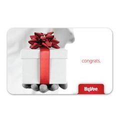 Have you picked up a graduation gift yet? Hy-Vee gift cards are the perfect gift and there's nothing to wrap!