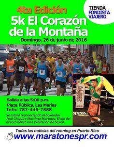 5K El Corazón de la Montaña #sondeaquipr #5kcorazondelmontana #lasmarias #deportespr #fondistaviajero