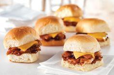 Chicken BBQ 'Sliders' Recipe - Kraft Recipes