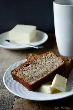 Coconut Flour Banana Bread via @Carol Lovett // #coconut #banana #bread #recipe