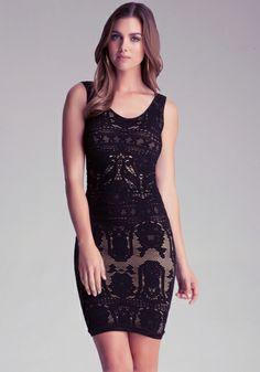 Little black dress from bebe. Want.