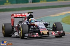 Carlos Sainz Jr., Scuderia Toro Rosso, Formule 1 Grand Prix van Australië 2015, Formule 1