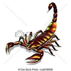 métallique, scorpion - csp8188389