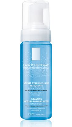 All about CLEANSING MICELLAR FOAMING WATER  SENSITIVE SKIN, a product in the Physiological cleansers range by La Roche-Posay recommended for {Topic_Label}. Free expert advice