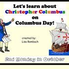 Learn about Christopher Columbus SmartBoard Lesson
