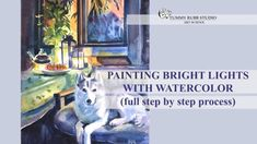 Now featured on Tummy Rubb Studio's YouTube channel - painting summer evening scene with a husky relaxing on the bench. In this video I explain step by step how to paint this with watercolor. It looks complicated but it's not if you break down the process into manageable steps - from light to dark. Active link in my bio - see you there! . Interested in learning how to paint animals with watercolor? I teach live online classes on Skilpe.com! . . . . #tummyrubbstudio #artclass #lovedogs #watercolo Watercolor Portraits, Watercolor Painting, School Painting, A Husky, Figure Sketching, Watercolour Tutorials, Summer Evening, Watercolor Animals, Bright Lights