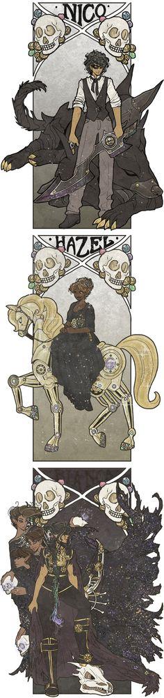 Steampunk Heroes of Olympus | art by inkscribble