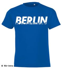 Berlin Kinder T-Shirt in Blau