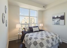 #BTSH Staged Condo Guest Bedroom #Staging