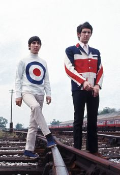 Keith Moon & John Entwistle (the Who)