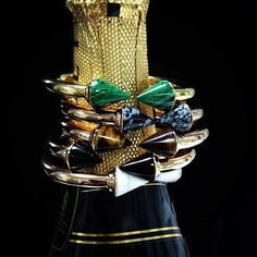 vita fede. titan stone #bracelet. malachie. snowflake obsidian. tiger's eye. howlite. oh my!!