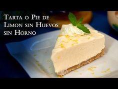 Receta Tarta o Pie de Limon sin Huevos sin Horno Muy Facil -