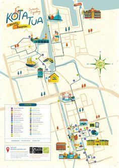 Kota Tua & Glodok Map for iDiscover