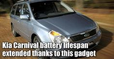 Kia Carnival battery lifespan extended thanks to this gadget